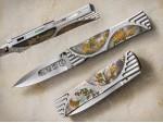 高蒔絵 四季ナイフ 原幸治 フォールディングナイフ