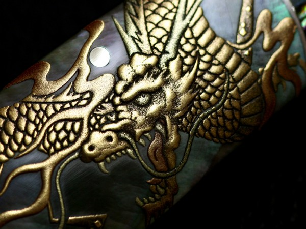 MAKI-E UNRYU II - Koji Hara Knives