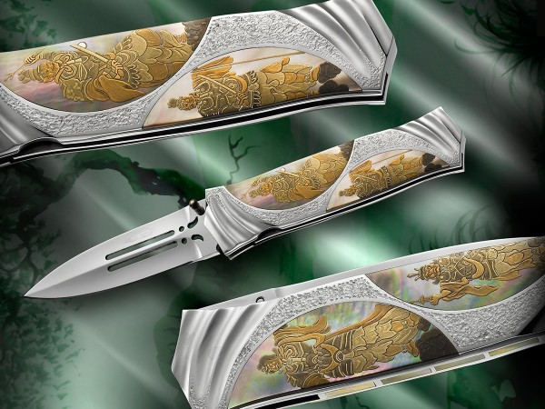 MAKI-E SITEN-NO - Koji HARA Custom Folding Knife